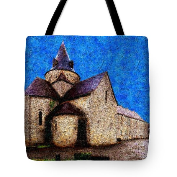 Small Church 4 Tote Bag by Jean Bernard Roussilhe