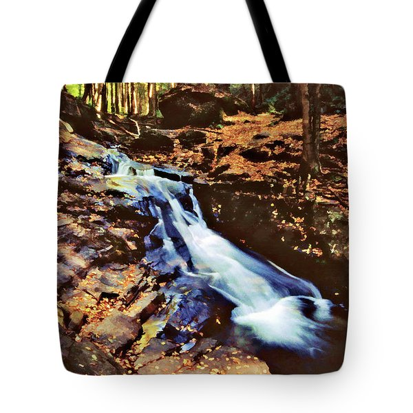 Small Falls 001 Tote Bag by Scott McAllister