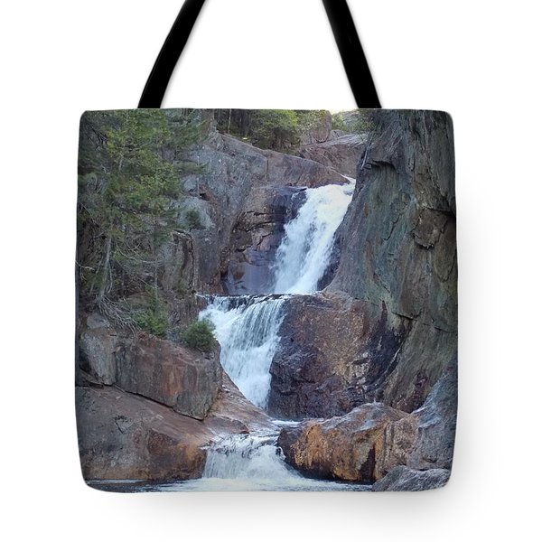 Small Falls In Madrid Maine Tote Bag