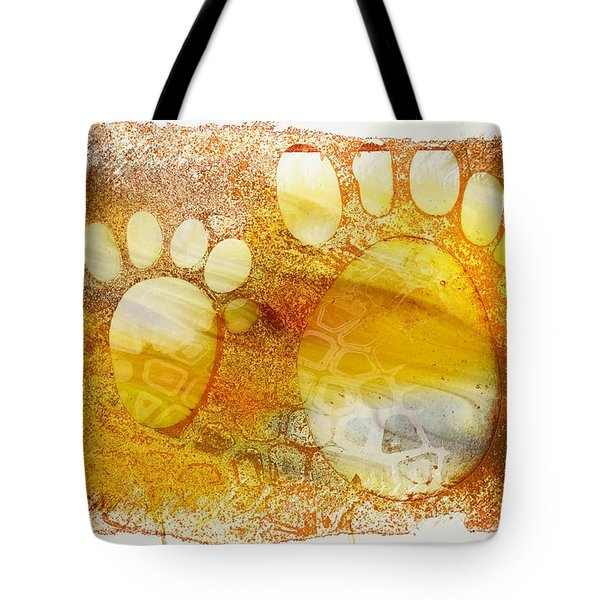 Small Feet And Big Feet 14 Tote Bag