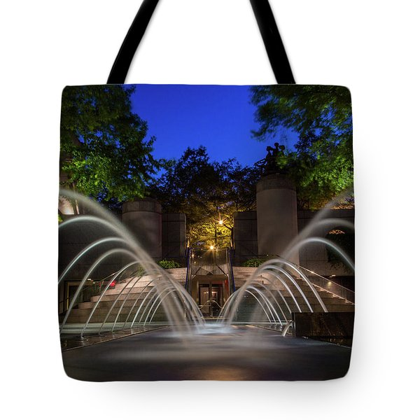 Small Fountain Tote Bag