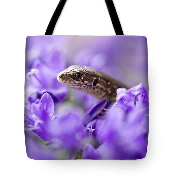 Small Lizard Tote Bag