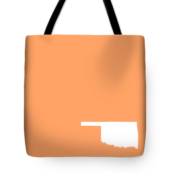 Small Oklahoma In White Tote Bag