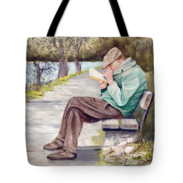 Small Print Tote Bag