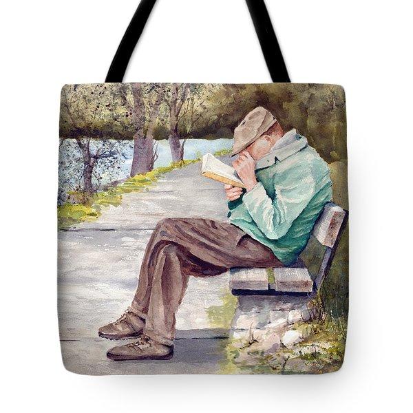 Small Print Tote Bag