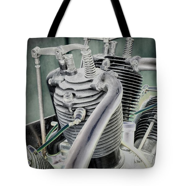 Tote Bag featuring the photograph Small Radial Engine by Dennis Dame