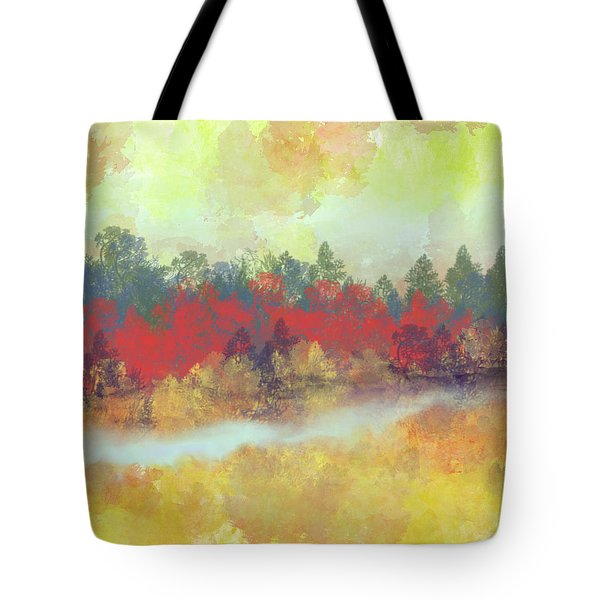 Small Spring Tote Bag by Jessica Wright