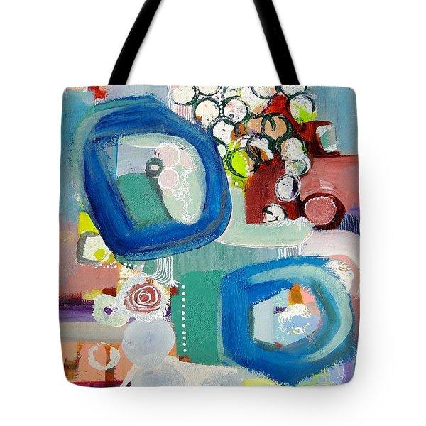 Small Talk Tote Bag