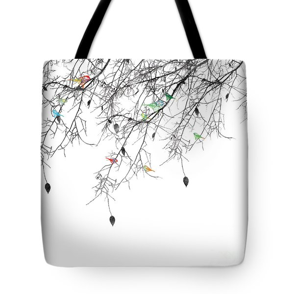 Small Talk Tote Bag by Trilby Cole
