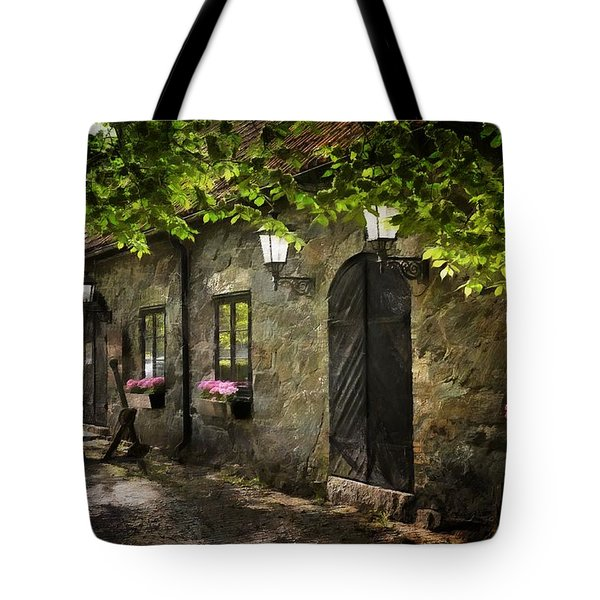 Small Town Idyll Tote Bag