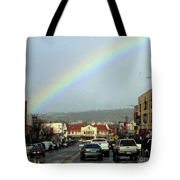 Tote Bag featuring the photograph Small Town Living by Beauty For God
