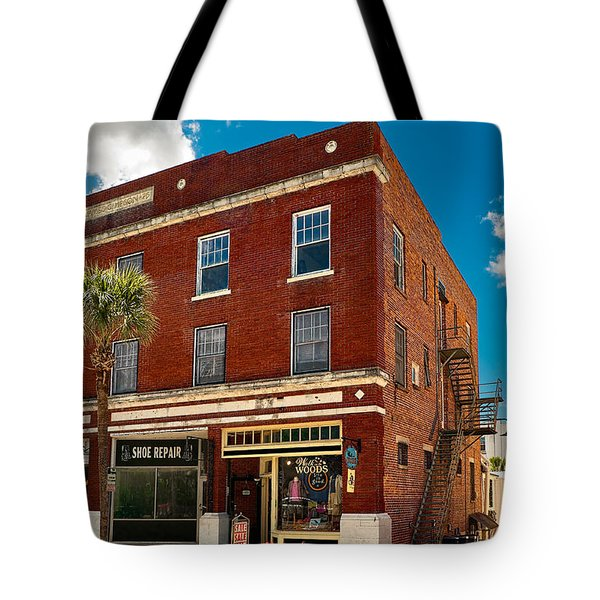 Small Town Shops Tote Bag by Christopher Holmes