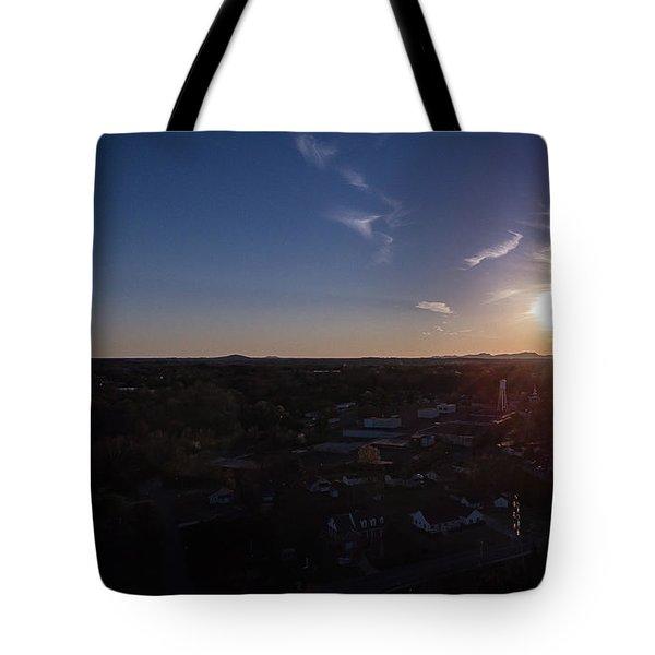 Small Town Sun Tote Bag