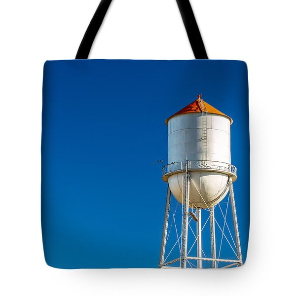 Small Town Water Tower Tote Bag