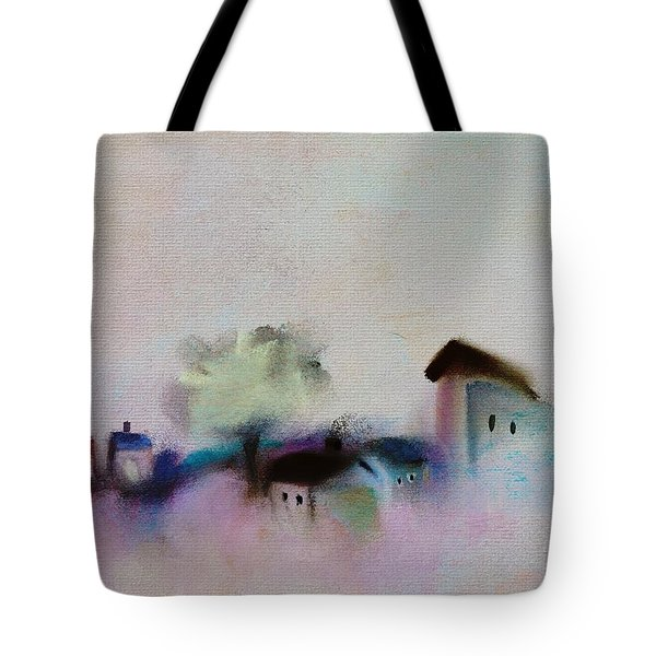 Small Village Tote Bag by Frank Bright