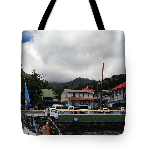 Tote Bag featuring the photograph Small Village by Gary Wonning