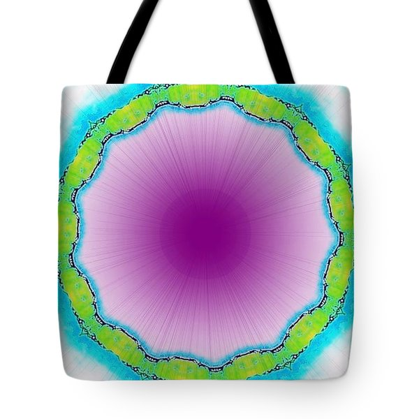 Small Violet Eye Tote Bag