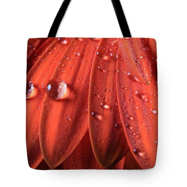 Small Water Drops Tote Bag