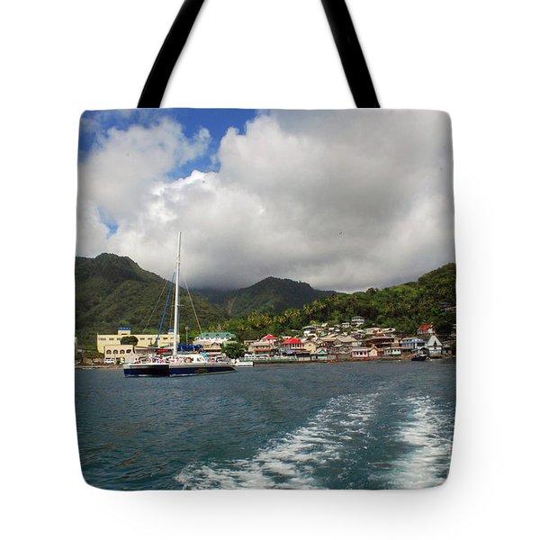 Smalll Village Tote Bag
