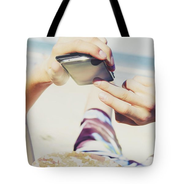 Smart Holiday Apps Tote Bag