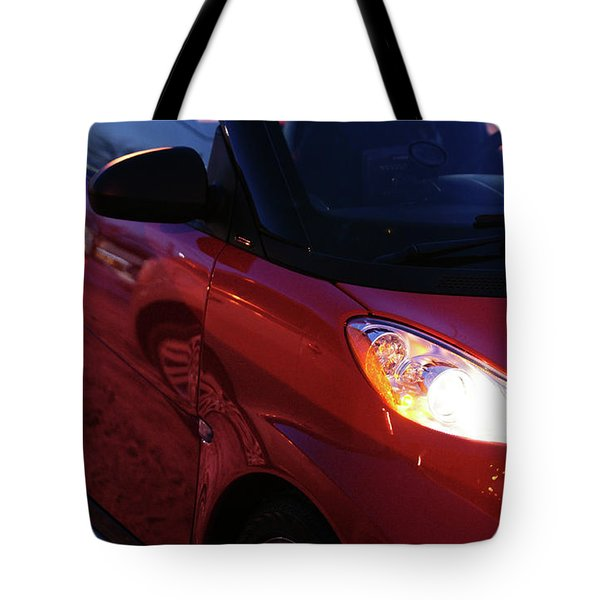 Smart Tote Bag by Linda Shafer