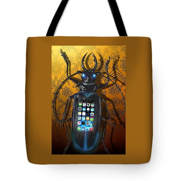 Smart Phone Tote Bag by Larry Butterworth