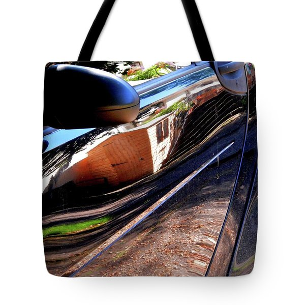 Smart Shed Tote Bag by Nik Watt
