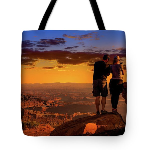 Smartphone Photo Opportunity Tote Bag