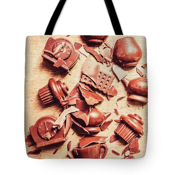Smashing Chocolate Fondue Party Tote Bag