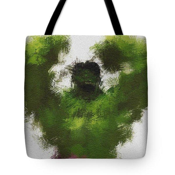 Smashing Green Tote Bag by Miranda Sether