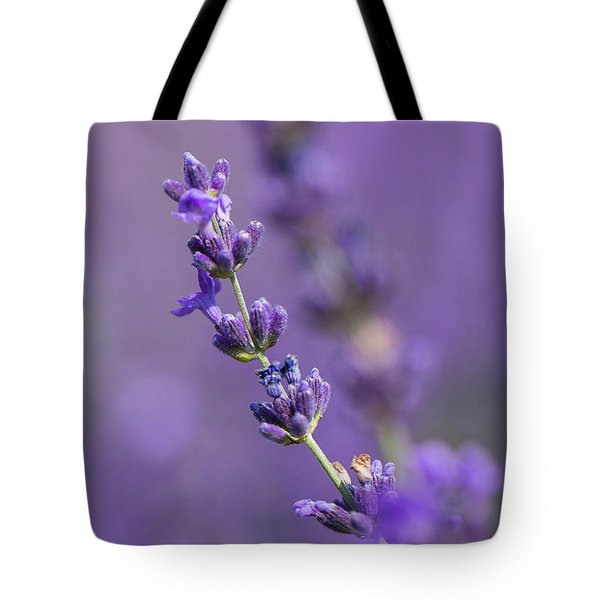 Smell The Lavender Tote Bag