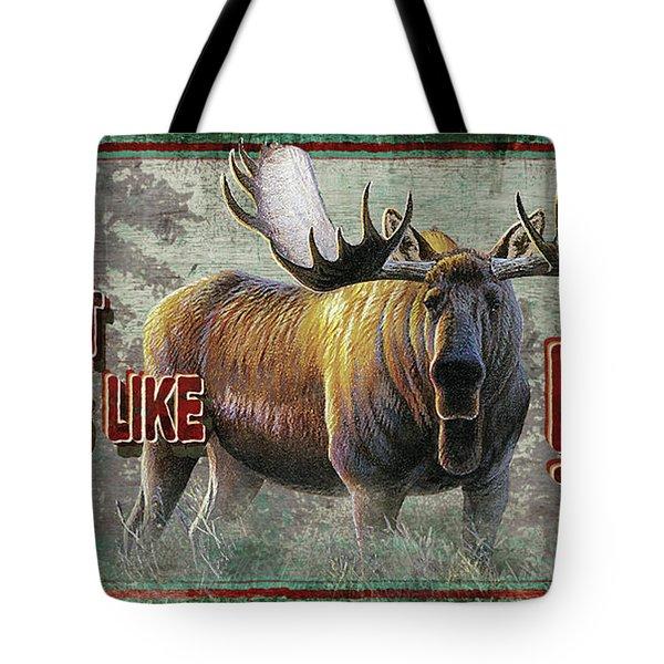 Smells Like Bull Sign Tote Bag