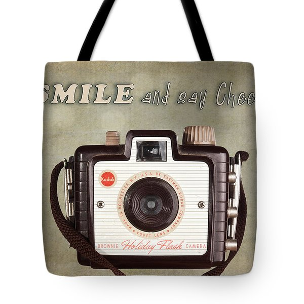 Smile And Say Cheese Tote Bag