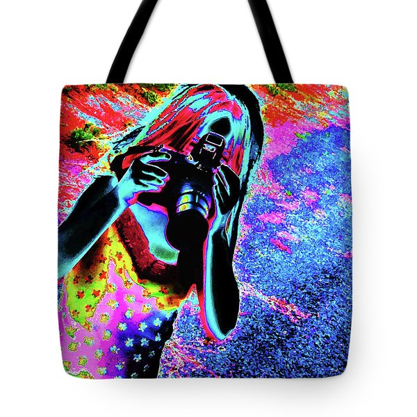 Smile Tote Bag by Molly McPherson