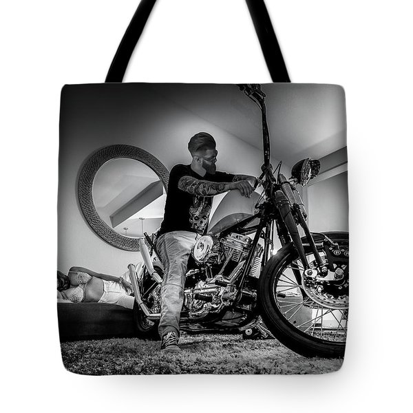 Tote Bag featuring the photograph Smile Of Approval- by JD Mims