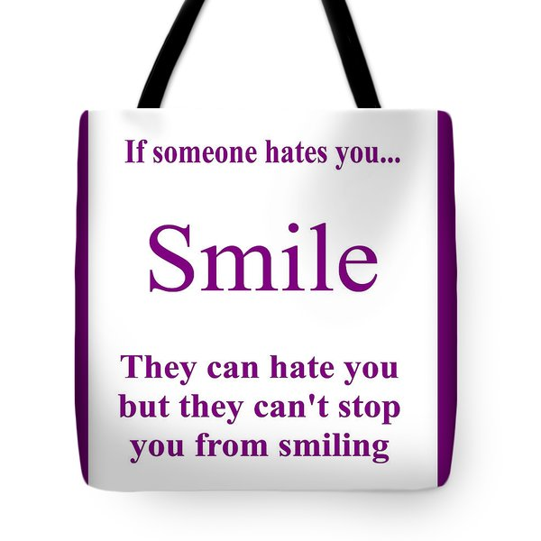 Smile Tote Bag