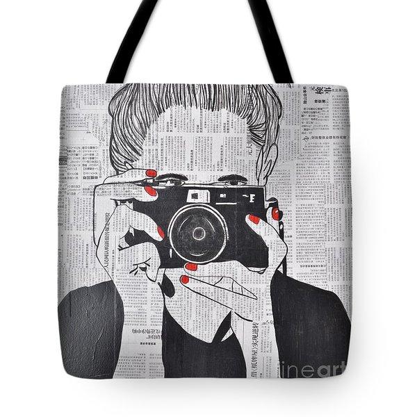 Smile Twice Tote Bag
