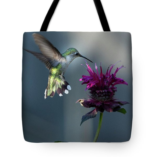 Smiles In The Garden Tote Bag by Everet Regal