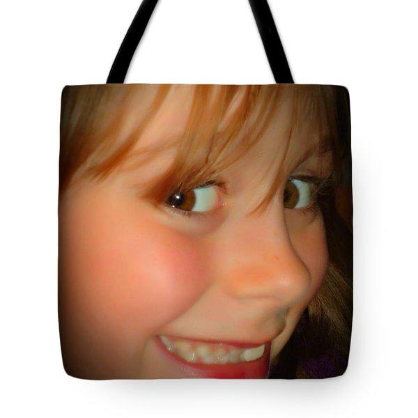 Smiles Tote Bag