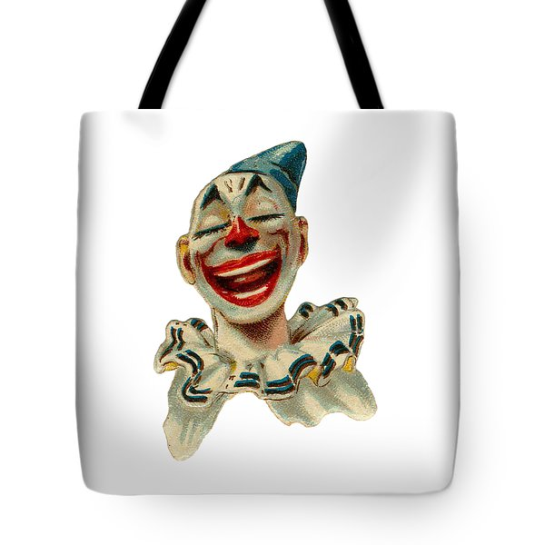 Tote Bag featuring the digital art Smiley by ReInVintaged