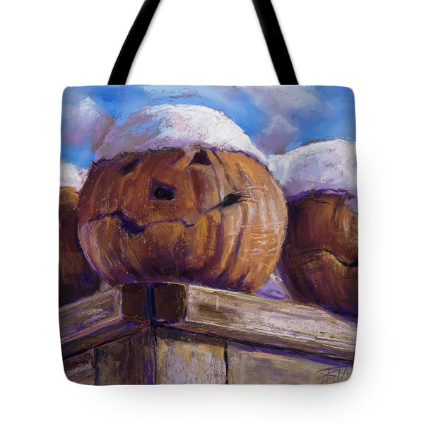 Tote Bag featuring the pastel Smilin Jacks by Billie Colson