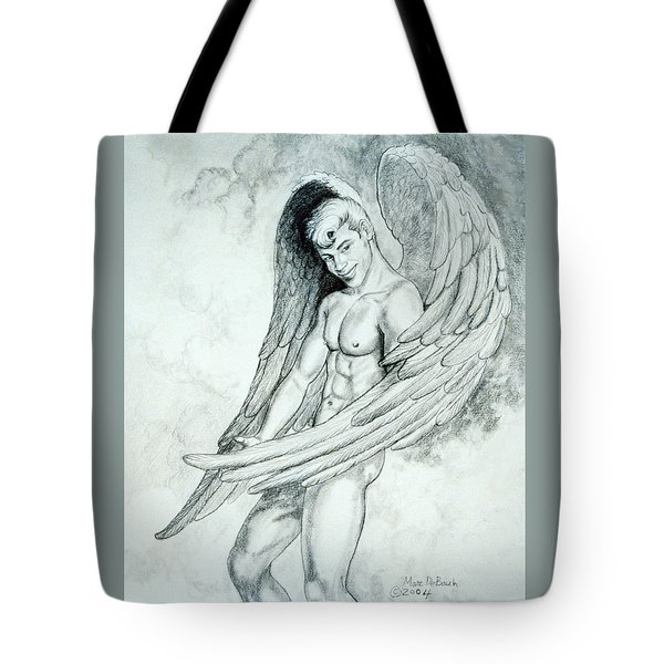 Smiling Angel Tote Bag