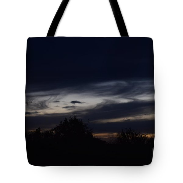 Tote Bag featuring the photograph Smiling Cloud Baby by Mark McReynolds
