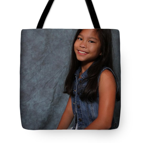 Tote Bag featuring the photograph Smiling Cutie by Robert Hebert