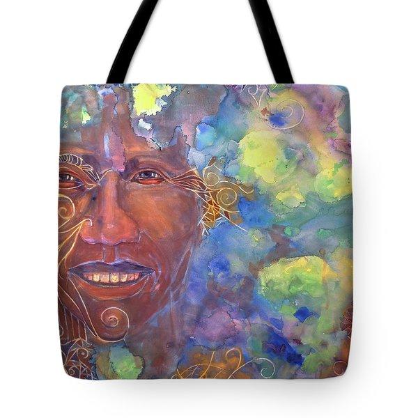 Smiling Muse No. 1 Tote Bag