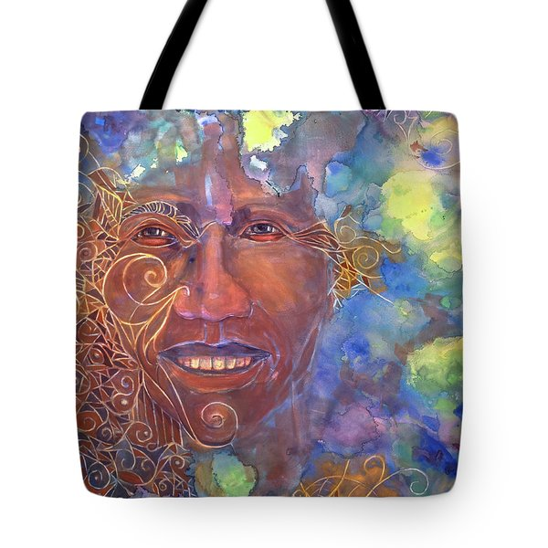 Smiling Muse No. 1 Tote Bag