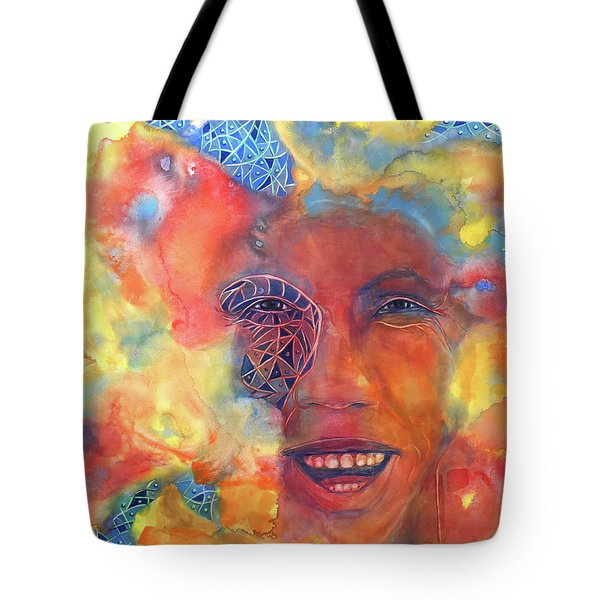 Smiling Muse No. 2 Tote Bag