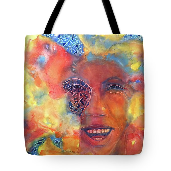 Smiling Muse No. 2 Tote Bag