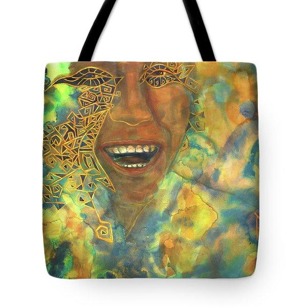 Smiling Muse No. 3 Tote Bag