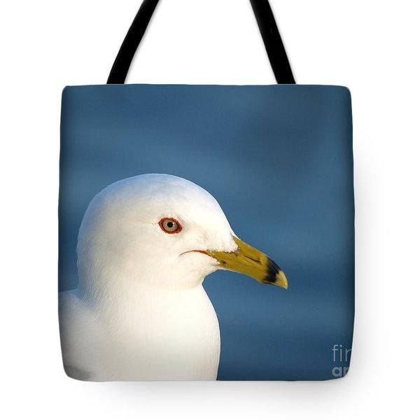 Smiling Seagull Tote Bag